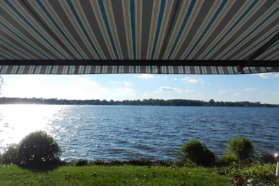 lake home awning