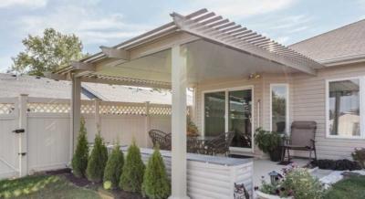 pergola style patio cover