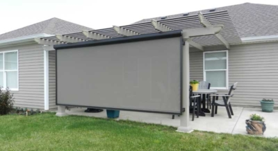 pergola screen covers