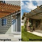 Wood Pergolas vs. Aluminum Pergolas