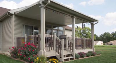 conemporary patio cover