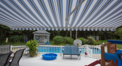 pool deck shade