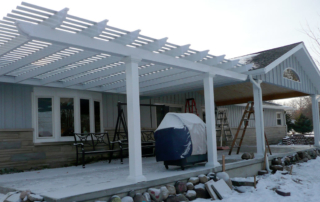 tips to use pergola in winter